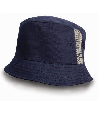 Result Cotton Bucket Hat Navy ONE (RC045 NAV ONE)