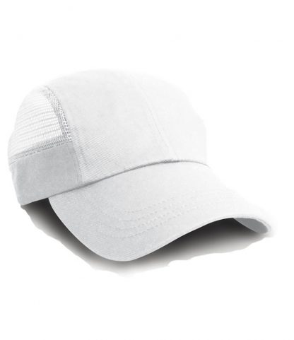 Result Sports Cap with Mesh White ONE (RC047 WHI ONE)