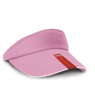 Result Sun Visor Pink/white ONE (RC048 PI/WH ONE)