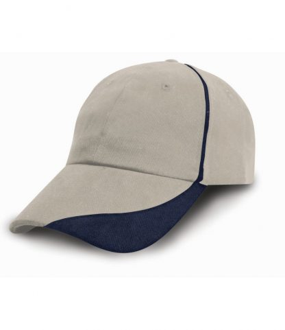 Result Heavy Cap with Scallop Peak Putty ONE (RC051 PUT ONE)