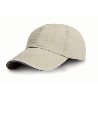 Result Washed Fine Line Cotton Cap Putty ONE (RC054 PUT ONE)