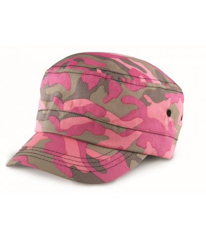 Result Camo Urban Cap Pink ONE (RC059 PIN ONE)