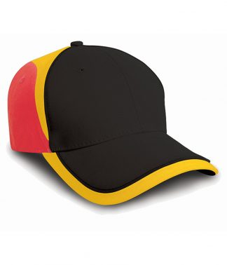 Result National Cap Black/red ONE (RC062 BK/RD ONE)