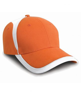 Result National Cap Orange/white ONE (RC062 OR/WH ONE)