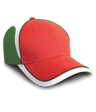 Result National Cap Red/green ONE (RC062 RD/GN ONE)