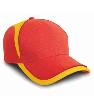 Result National Cap Red/yellow ONE (RC062 RD/YL ONE)