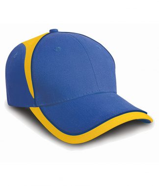 Result National Cap Royal/yellow ONE (RC062 RY/YL ONE)