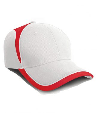 Result National Cap White/red ONE (RC062 WH/RD ONE)