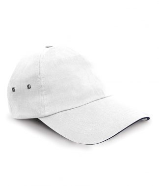 Result Plush 5 Panel Cap White ONE (RC072 WHI ONE)