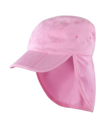 Result Fold Up Legionnaires Cap Pink ONE (RC076 PIN ONE)