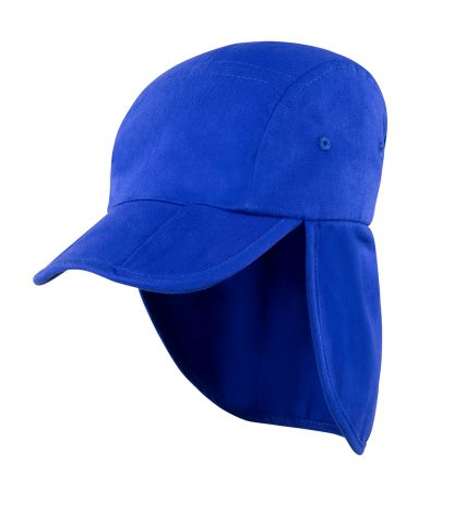 Result Fold Up Legionnaires Cap Royal ONE (RC076 ROY ONE)