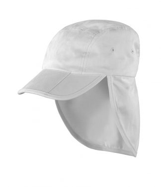 Result Fold Up Legionnaires Cap White ONE (RC076 WHI ONE)