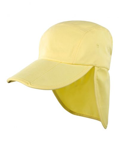 Result Fold Up Legionnaires Cap Yellow ONE (RC076 YEL ONE)