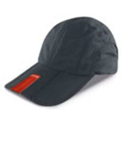Result Fold Up Baseball Cap Black ONE (RC078 BLK ONE)